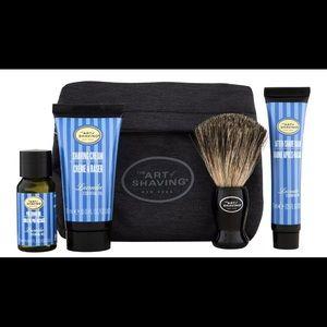 The Art of Shaving Starter Kit with Bag Lavender